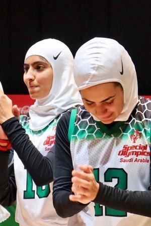 Saudi women basketball team