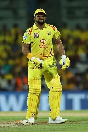 Suresh Raina is No 1