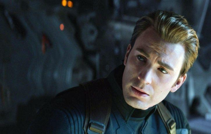 A picture of Chris Evans from Avengers: Endgame.