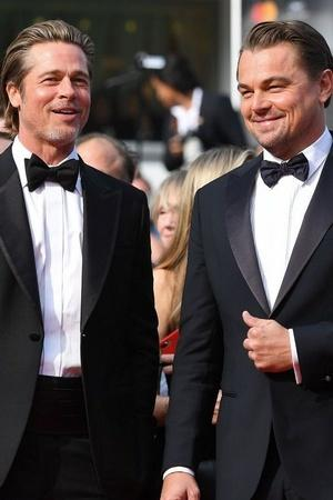 Brad Pitt And Leonardo DiCaprio Walked Cannes Red Carpet In Twinning Tuxedos Were Swooning