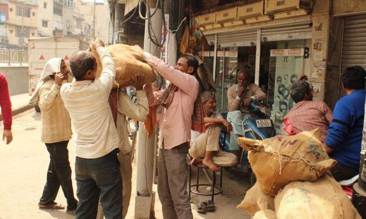 delhi Migrant Labourer