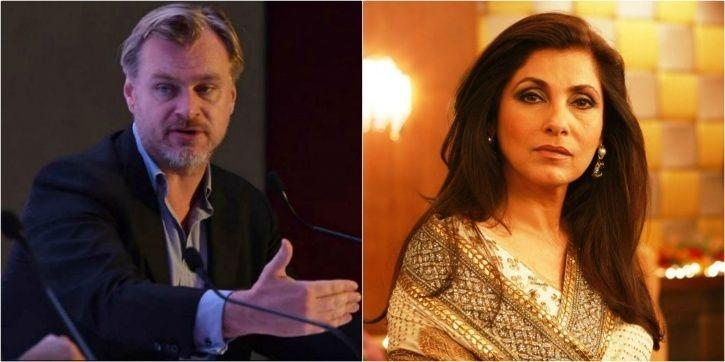 Christopher Nolan:Dimple Kapadia's Look From Christopher