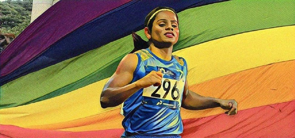 Cosmopolitan Magazine, All Eyes On Covergirl Dutee Chand As She Poses For The Cover Of'Cosmopolitan' Magazine!