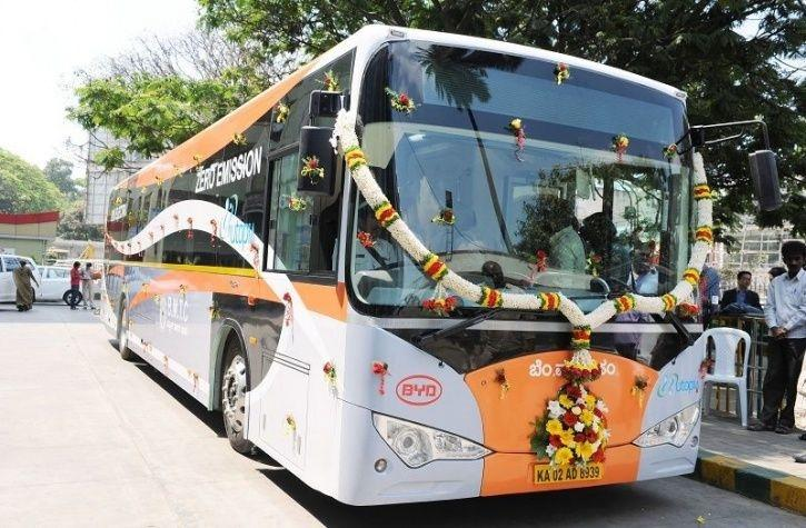 Electric Buses India, Bangalore Electric Bus, BMTC, Bengaluru Electric Buses, India EV News, FAME In