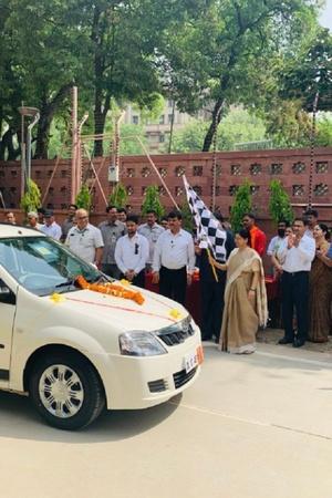 EV India Electric Vehicle India EV Charging Station Parliament Parliament EV Charging EESL EV C