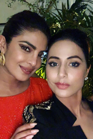 Hina Khan Pens A Heartfelt Note For Priyanka Chopra calls her a walking inspiration at Cannes