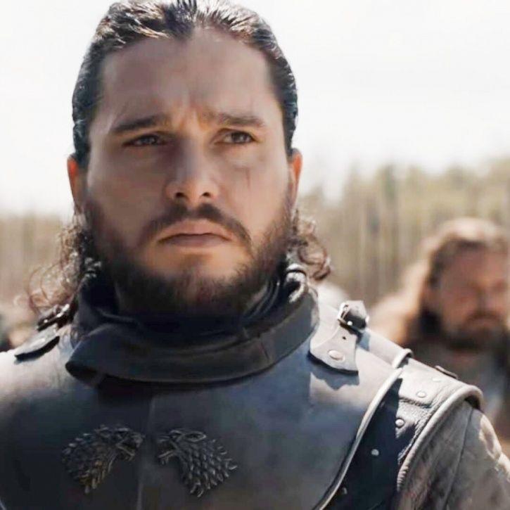 Kit Harington AKA Jon Snow in Game of Thrones.