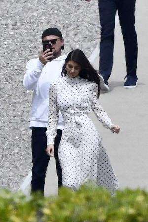 Leonardo DiCaprio and Camila Morrone spotted at Cannes Film Festival
