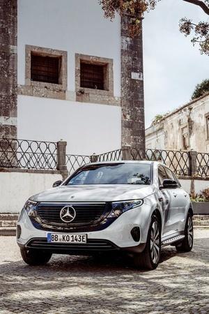 MercedesBenz EQC Mercedes EQC Production Mercedes EQC Launch Mercedes EQC Price Mercedes EQC Sp