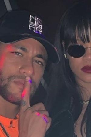Neymar was with Rihanna