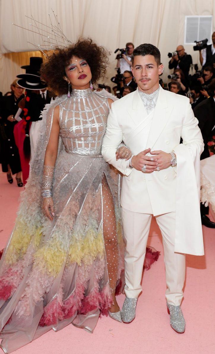 Priyanka Chopra and Nick Jonas at Met Gala 2019.