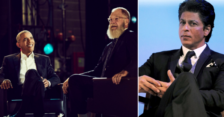 Shah Rukh Khan to feature on David Letterman show on Netflix.