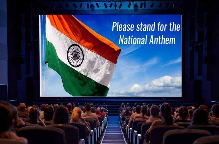 Should standing up during national anthem in theatres be compulsary?
