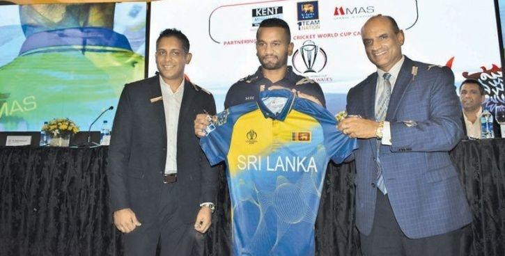 Sri Lanka:Sri Lanka's World Cup Jersey Is Made Up Of Recycled
