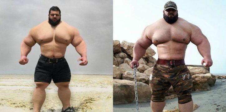 The Iranian Hulk is a beast