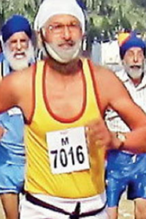78 Year Old Athlete Heart Attack Race Punjab