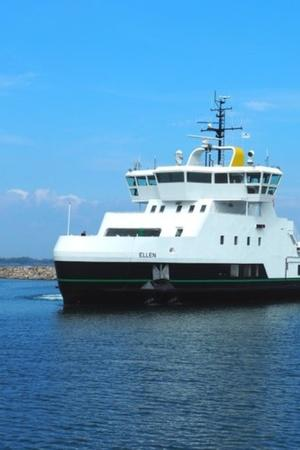 Ellen Electric Ferry, Worlds Largest All Electric Ferry, Tesla Model S Battery, Largest Electric Ship, Electric Ferry, Maritime Electrification, Electric Vehicles In Water, EV News, Auto News