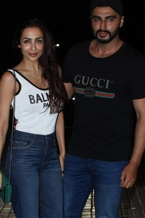 Arjun and Malaika