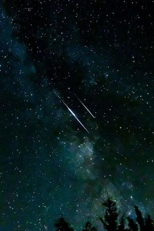 artificial shooting stars