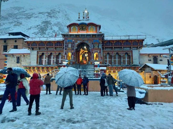 badrinath snowfall