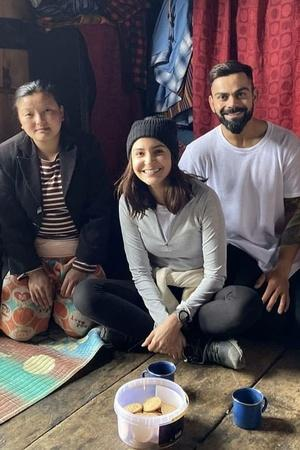 Coffee Drinker Anushka Sharma Enjoys Tea In Bhutan With Husband Virat Kohli Gets Trolled