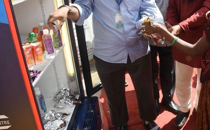Community Fridge Installed To Check Food Wastage