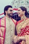 Deepika Padukone And Ranveer Singh Celebrate First Anniversary With Their Families At Tirupati