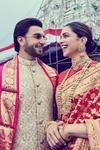 Deepika Padukone And Ranveer Singh Celebrate First Anniversary With Their Families At Tirupati