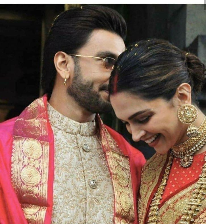 Deepika Padukone And Ranveer Singh Celebrate First Anniversary With Their Families At Tirupati!