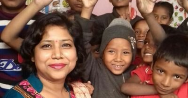 dr bharati garg, US, Biotech, Phd, teaching Poor Kid