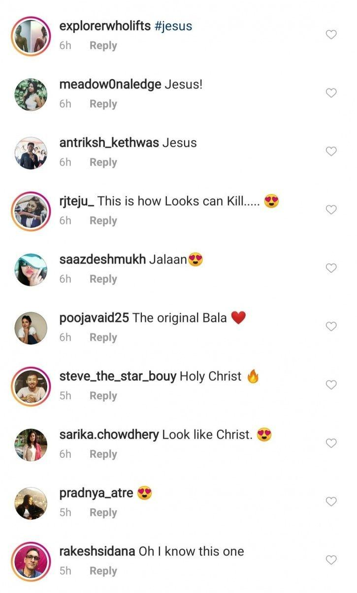 Fans Think Milind Soman Looks Like Jesus Christ In This Old Photo & They