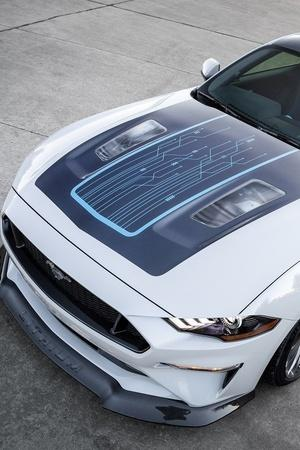 Ford Mustang Lithium Ford Mustang Electric Mustang Electric Manual Transmission Electric Cars Wit