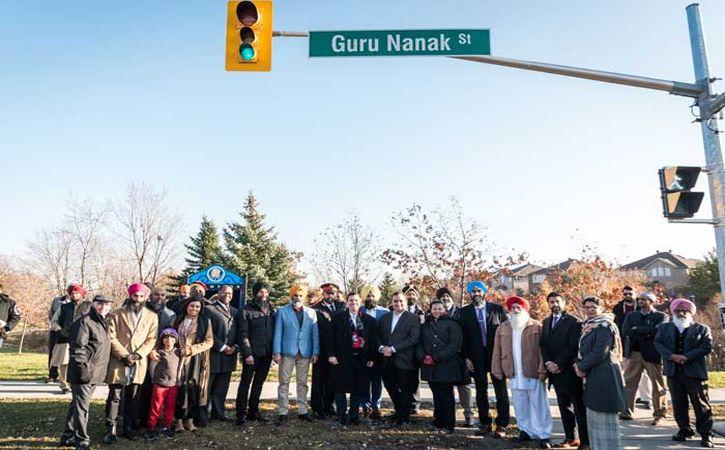 guru nanak street canada