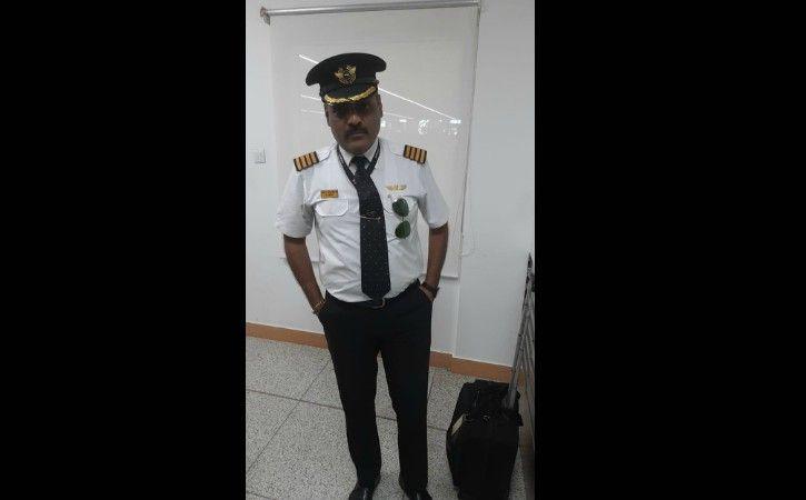 Impersonating As Lufthansa Pilot