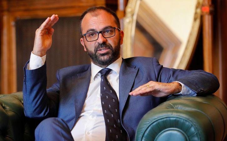 Italy Education Minister Lorenzo Fioramonti