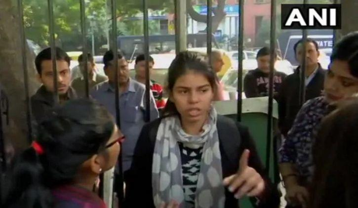 Lone Teenage Girl Protests Outside Parliament, Asks 'Why I Can't Feel Safe In Bharat'