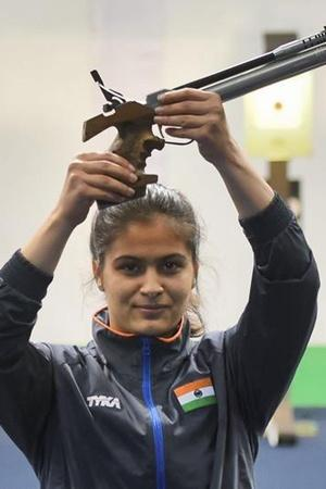 Manu Bhaker is on a roll