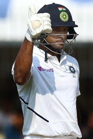 Mayank Agarwal loves to score big
