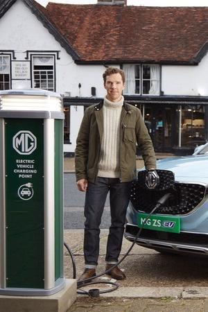 MG eZS Image MG eZS With Benedict Cumberbatch MG eZS Launch MG eZS Electric SUV MG eZS Image MG