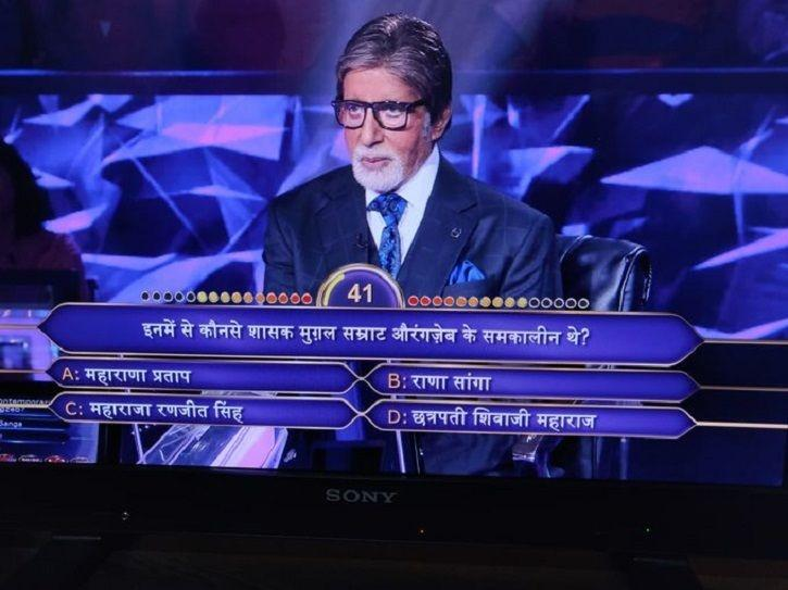 People criticised Amitabh Bachchan for referring to Mughal ruler as 'Samrat' and Maratha Ruler Chhat