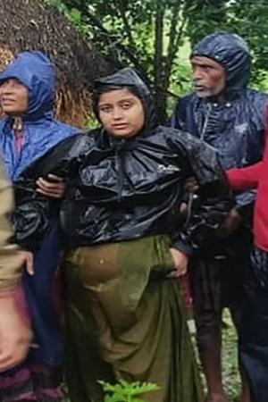 Pregnant Woman Rescued By Fire Personnel During Cyclone Bulbul