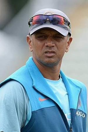 Rahul Dravid was in beast mode