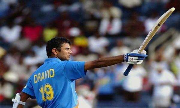 Rahul Dravid was in beast mode