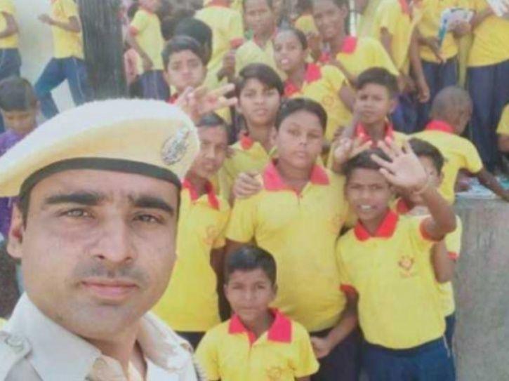 Rajasthan Cop School, Rajasthan, cop, school, underprivileged children, Churu, Dharamveer Jakhar, St