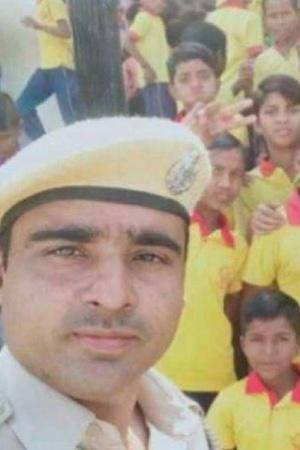 Rajasthan Cop School Rajasthan cop school underprivileged children Churu Dharamveer Jakhar St