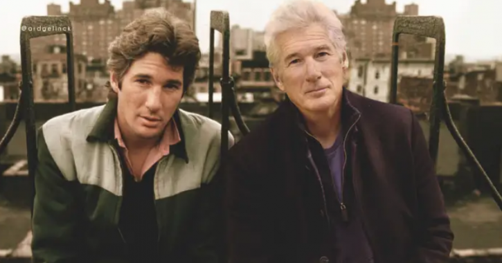 Richard Gere: Celebrities With Their Younger Selves