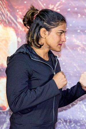 Ritu Phogat has won her first MMA fight