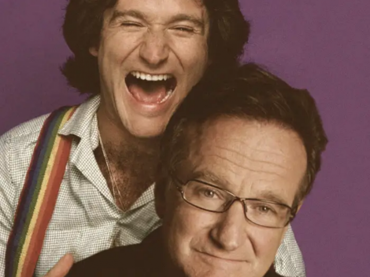 Robin Williams: Celebrities With Their Younger Selves