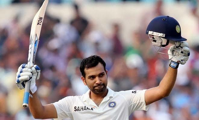 Rohit Sharma made 177