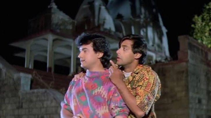 Salman & Aamir Weren't On Talking Terms On Andaz Apna Apna Sets Because 'Jhagade Chal Rahe The'